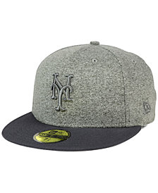 New Era New York Mets Shady Gray 59FIFTY Fitted Cap