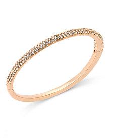Danori Bracelet, Silver-Tone Crystal Bangle, Created for Macy's