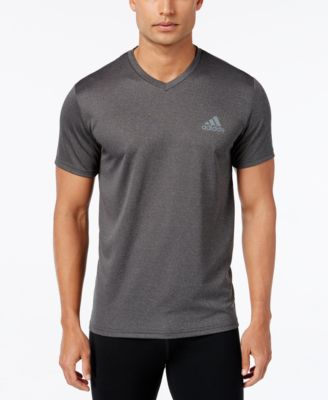 797c7a84 adidas Men's V-Neck ClimaLite T-Shirt & Reviews - T-Shirts - Men - Macy's