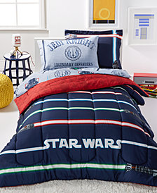 Star Wars Light Saber Full 7 Piece Comforter Set