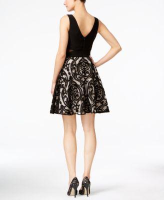 Damask Cocktail Dress