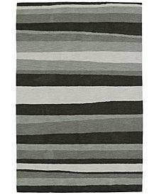 Macy's Fine Rug Gallery  Aloft AL8 Charcoal 9'x13' Area Rug