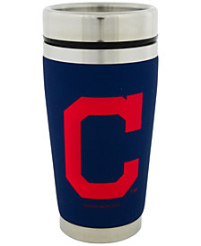 Hunter Manufacturing Cleveland Indians 16 oz. Stainless Steel Travel Tumbler