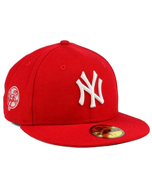 36bfea218ba New Era New York Yankees C-Dub Patch 59FIFTY Fitted Cap - Sports Fan ...