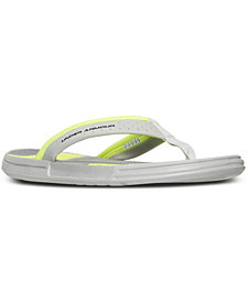 Under Armour Men's Micro G EV Illusion Thong Sandals from Finish Line