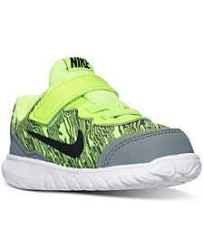 Nike Toddler Boys' Flex Experience 4 Print Running Sneakers from Finish Line