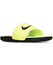 Nike Big Boys'   Kawa Slide Sandals from Finish Line