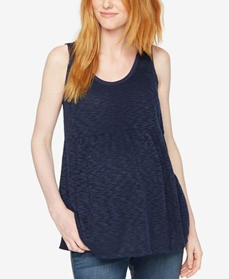 A Pea In The Pod Maternity Relaxed-Fit Tank Top