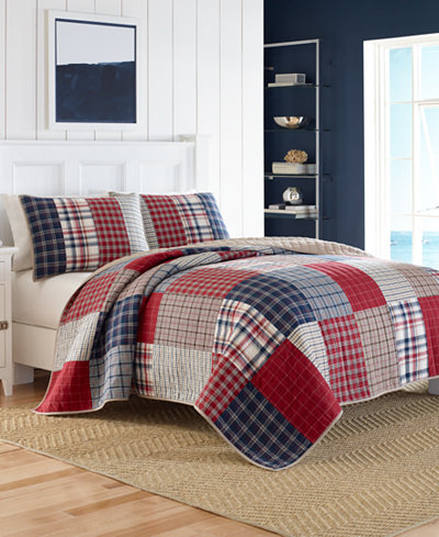 CLOSEOUT! Nautica Ansell Twin Quilt