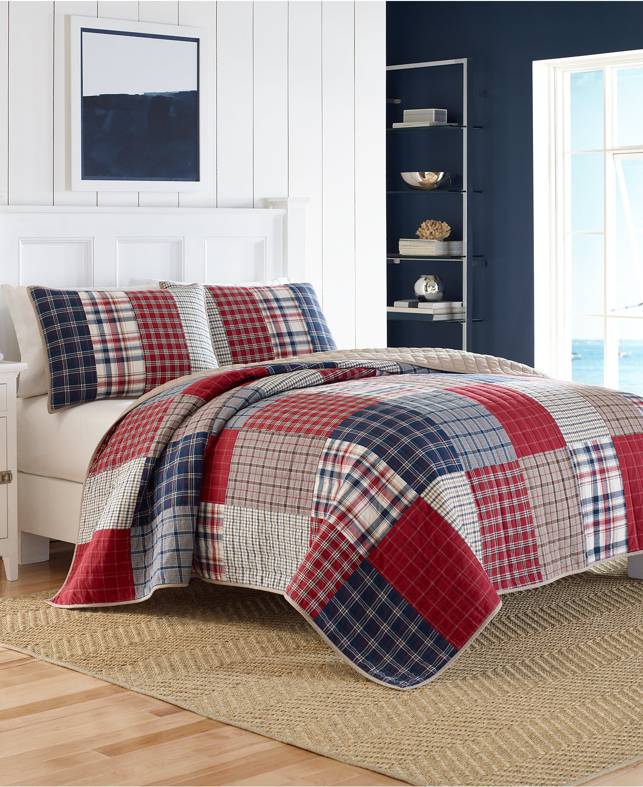 Nautica Bedroom Furniture Nautica Ansell Quilt Collection 100 Cotton Quilts Bedspreads