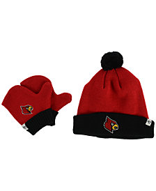 '47 Brand Toddlers' Louisville Cardinals Knit Hat and Mittens Set