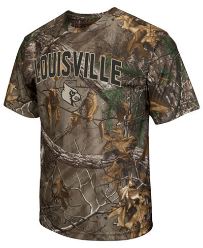 ColosseumLouisville Cardinals Realtree Brow Tine T-Shirt, Big Boys (8-20)