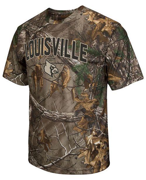 Colosseum Cardinals Realtree Brow Tine T-Shirt, Big Boys (8-20)
