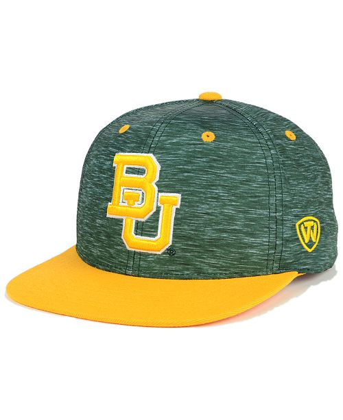 best sneakers 9a6a4 2392b Top of the World Baylor Bears Energy 2-Tone Snapback Cap ...