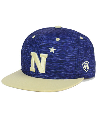 Top of the World Navy Midshipmen Energy 2-Tone Snapback Cap