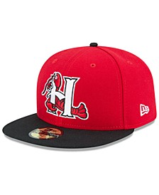 Hickory Crawdads AC 59FIFTY Fitted Cap