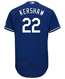 Majestic Men's Clayton Kershaw Los Angeles Dodgers Flexbase On-Field Jersey
