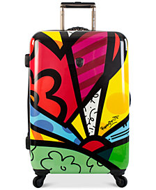 "Heys Britto New Day 26"" Expandable Hardside Spinner Suitcase"