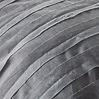 Dkny Loft Stripe Gray King Duvet Cover Bedding