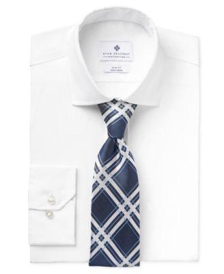 Ryan Seacrest Distinction Slim-Fit Non-Iron Ultimate White Dress ...