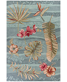 Kas Coral 4166 Seafoam Visions Area Rugs