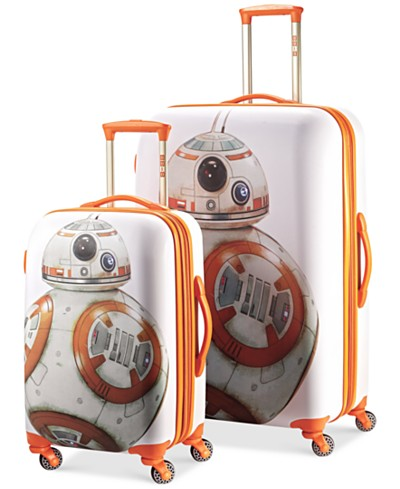 Star Wars BB-8 Hardside Spinner Luggage by American Tourister