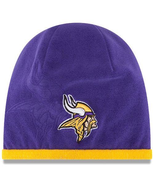 New Era Minnesota Vikings Tech Knit Hat - Sports Fan Shop By Lids ... a1c1bceca