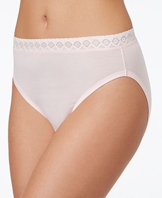 Jockey Elance Supersoft Lace French CutBrief 2105, Only at Macy's