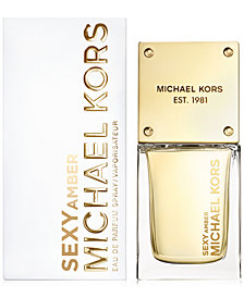 Receive a Complimentary 1-oz. Sexy Amber Spray with select large spray purchases from the Michael Kors fragrance collection