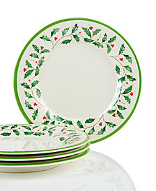 Lenox Holiday™ Melamine Accent Plates Set of 4