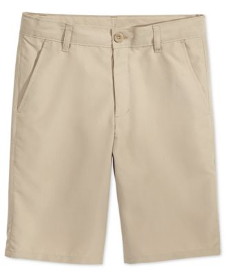 School Uniform Performance Shorts, Big Boys