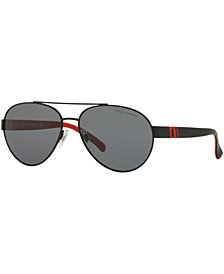 Polo Ralph Lauren Polarized Sunglasses, PH3098