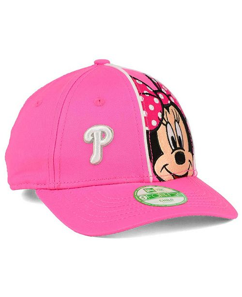 new arrival 9e08c 03ae9 ... 9FORTY Cap  New Era Girls  Philadelphia Phillies Face-Front Minnie  9FORTY ...