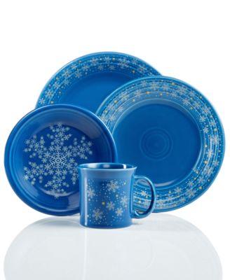 Snowflake Collection Created for Macy\u0027s  sc 1 st  Macy\u0027s & Fiesta Snowflake Collection Created for Macy\u0027s - Dinnerware ...