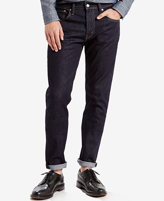 Levi's® 512™ Slim Taper Fit Jeans - Jeans - Men - Macy's