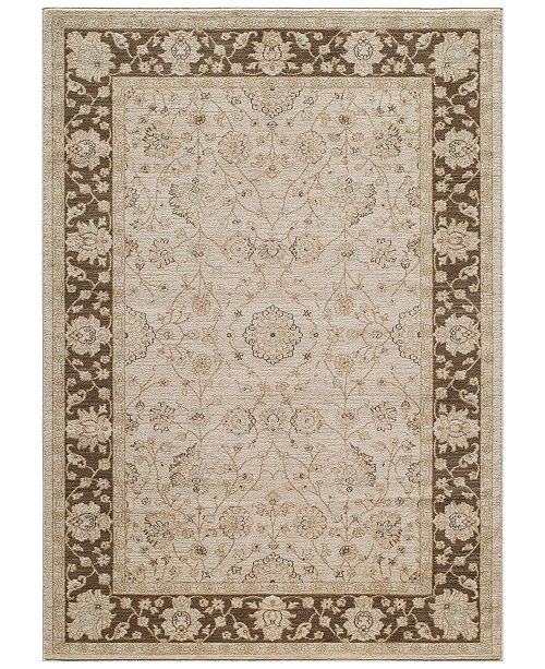 "Momeni CLOSEOUT! Voyage Abbey Brown 5'3""x7'6"" Area Rug"