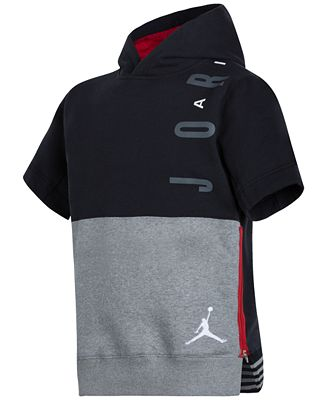 Jordan Little Boys' Short-Sleeve Hoodie - Sweaters - Kids & Baby ...