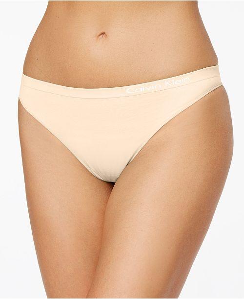 9dd611b1850c3 Calvin Klein Pure Seamless Thong QD3544   Reviews - Bras