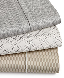 Hotel Collection 4-pc Coordinating Prints Sheet Sets, 525 Thread Count Cotton, Created for Macy's