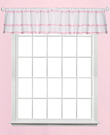 "Saturday Knight Confetti Dot Ruffle 42"" x 16"" Valance"