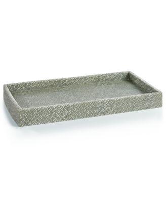 hotel collection shagreen bath tray created for macyu0027s