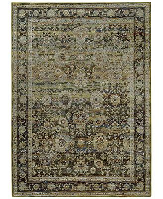 macy s rug gallery journey sardana green area rugs rugs macy s
