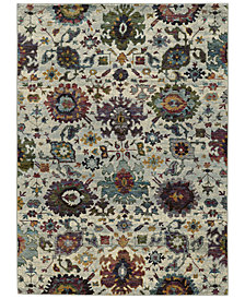 "Macy's Fine Rug Gallery Journey  Catalan Stone 6'7"" x 9'6"" Area Rug"