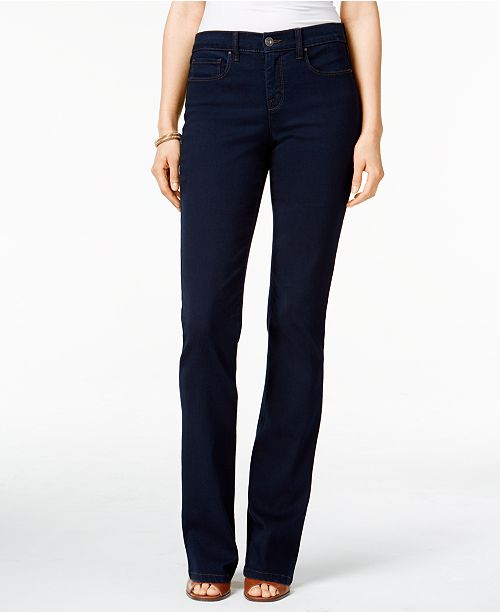 c63f620188750 ... Style   Co Tummy-Control Bootcut Jeans