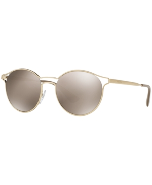 14d25303728 Prada Cinema Embossed Gold Sunglasses
