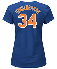Majestic Women's Noah Syndergaard New York Mets Player T-Shirt