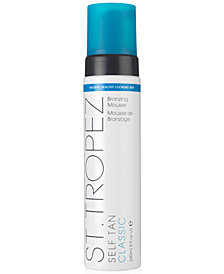 St. Tropez Self Tan Classic Bronzing Mousse, 8 oz.