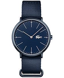 Lacoste Men's Moon Blue Nato Nylon Strap Watch 40mm 2010874