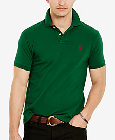 Polo Ralph Lauren Men's Classic-Fit Cotton Mesh Polo Shirt