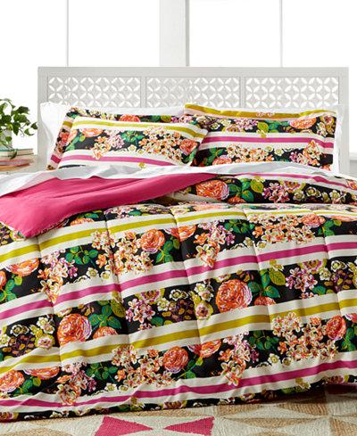 CLOSEOUT! Madison Stripe 3-Pc. Comforter Sets